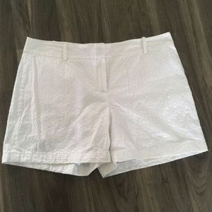 Talbots Plus Size Women's Shorts Sz 16 in White